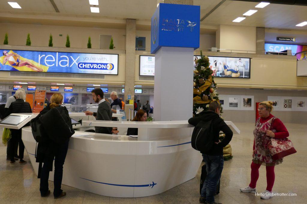 Consigne à bagages Aéroport de Malte