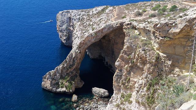 Blue Grotto de Malte